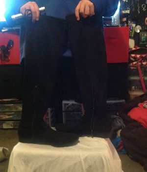 Time tru size 11 thigh boots for Sale in Taylorsville, UT