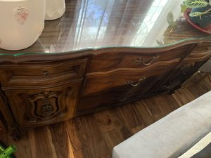 Dresser with 3 drawers and two side shelfs for Sale in Philadelphia, PA