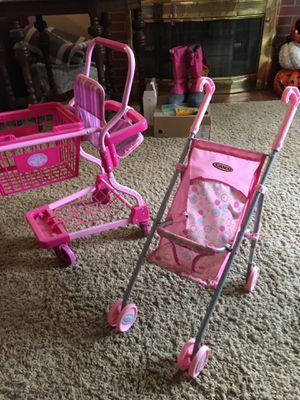 Play stroller and shopping cart for Sale in Tonawanda, NY