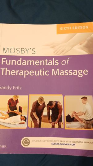 Mosby's Fundamentals of Therapeutic Massage (Sixth Edition) for Sale in La Habra Heights, CA