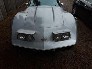1976 chevrolet corvette trade for v65 1100 magna or kawasaki 900 or the like for Sale in Portland, OR