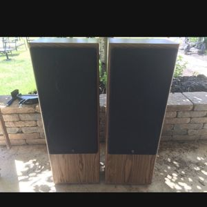 Yamaha Tower Speakers 140 Watts Max Each for Sale in Lorain, OH