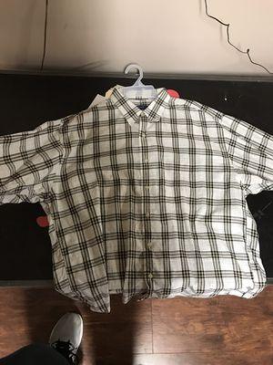 Men's Burberry shirt for Sale in Belle Vernon, PA