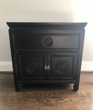 Asian night stand for Sale in Charlottesville, VA