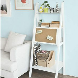 Desk: Modern Ladder Bookcase and shelves for Sale in Hialeah, FL