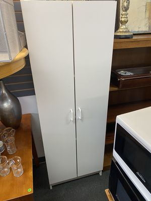 Storage cabinet with shelves and two doors for Sale in Chicago, IL