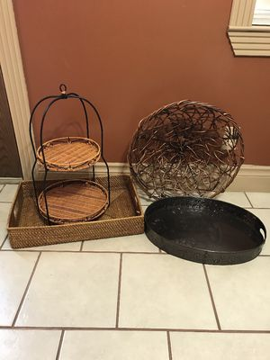 Home Items- 4pc. for Sale in Houston, TX
