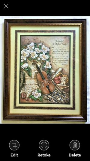 Home Interiors The Touch of The Masters Hand Picture for Sale in Lynchburg, VA