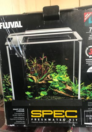 Fluval spec freshwater tank kit 2.6 gal: for Sale in Sun Valley, NV