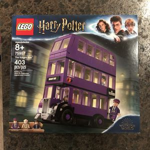NEW SEALED HARRY POTTER LEGO SET THE KNIGHT BUS 75957 WIZARDING WORLD TOY ! for Sale in Manchaca, TX