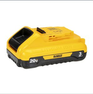 New Dewalt 20v 3ah Lithium Ion Battery for Sale in Fairfield, CA