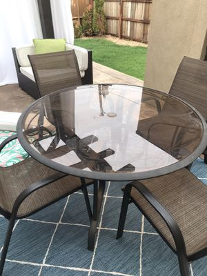 Patio table - chairs not included for Sale in Glendale, CO