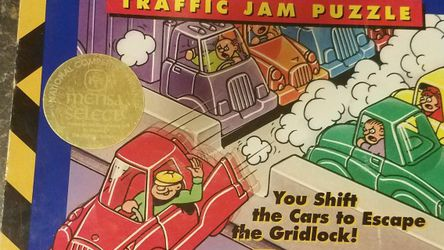 Rush Hour Traffic Jam Puzzle/game for Sale in Providence,  RI