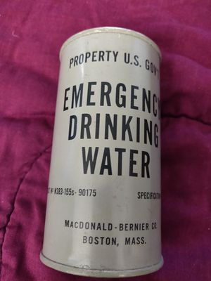 Antique emergency water can for Sale in Riverside, CA