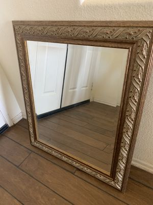 Mirror, Wooden Frame for Sale in Corona, CA