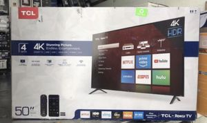 "50"" TcL roku smart 4K led uhd hdr tv for Sale in Chula Vista, CA"