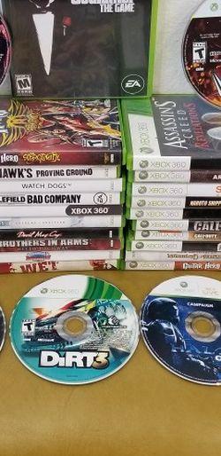 Xbox 360 Games, Read Description for Prices for Sale in Garden Grove,  CA