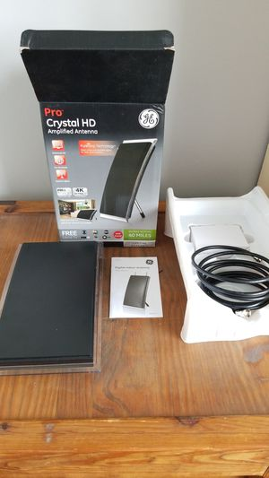GE Pro Crystal HD amplified antenna - 40 miles for Sale in Lake in the Hills, IL