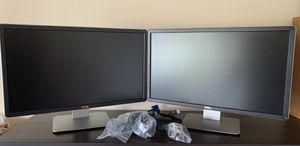 """Matched pair of Professional Dell Monitor P2314Ht 1920 x 1080 Resolution 23"""" WideScreen LCD Computer Display for Sale in Spring, TX"""