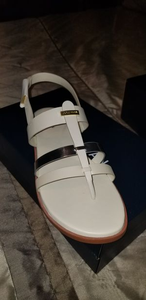 Cole Haan Cream and Gold Sandal for Sale in Memphis, TN