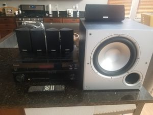 Polk Speakers and Receiver for Sale in Castle Rock, CO