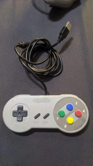 USB controller SNES style for Sale in Chino Hills, CA