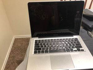 Apple 2011 late MacBook Pro Great condition with 250 gb Samsung ssd for Sale in San Antonio, TX