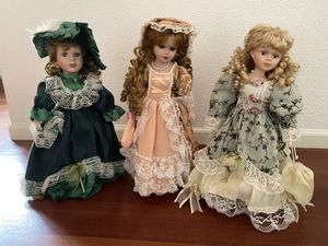 Antique Victorian Dolls for Sale in Broomfield, CO