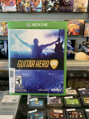Xbox One Guitar Hero Live for Sale in Torrance, CA
