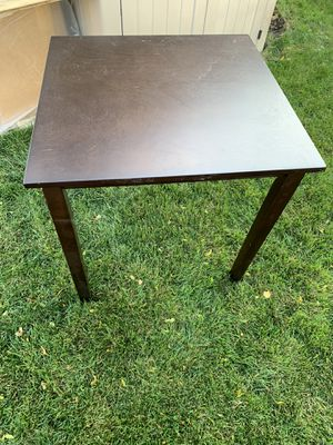 Wood table 4 Two for Sale in Alsip, IL