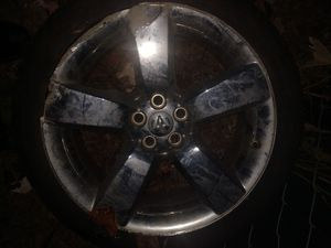 Dodge ram chrome rim n tire for Sale in Houston, TX