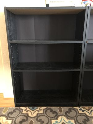 Black bookshelves for Sale in San Francisco, CA