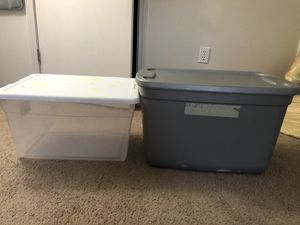 Two storage containers for Sale in Beaverton, OR