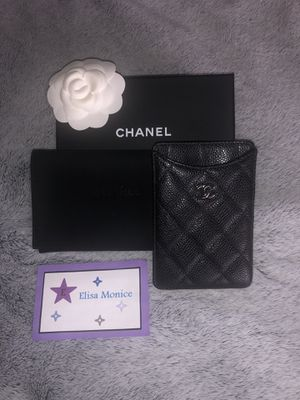 Like New Authentic CHANEL Card Holder for Sale in Elk Grove, CA