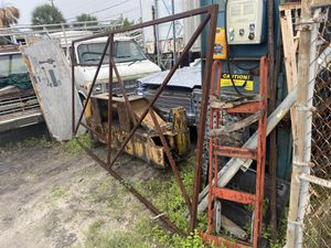 Steel frame ? Gate ? Repurpose square steel tube for Sale in Hollywood, FL