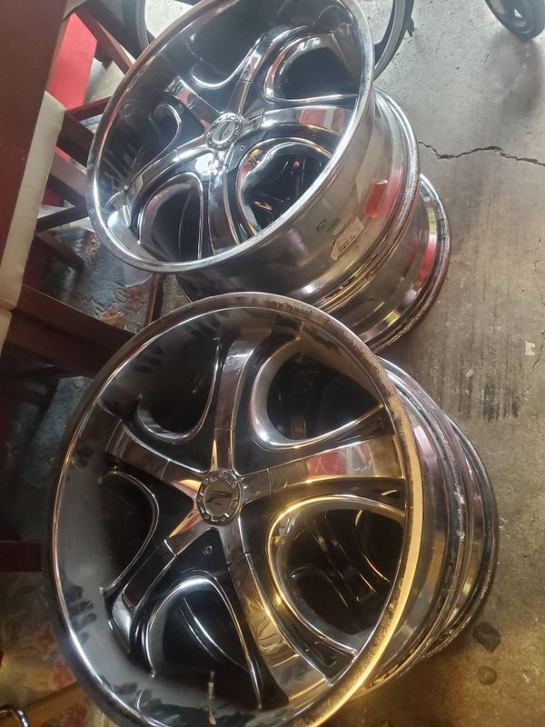 20 inch wheels Platinum Patriarch rims
