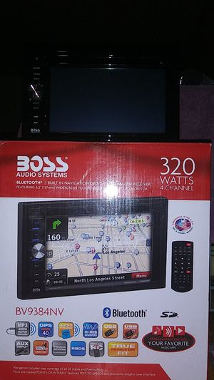 Boss oudio system Bluetooth stereo for Sale in Richmond, CA
