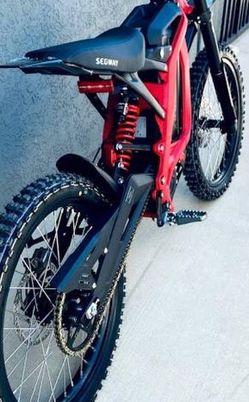 Segway Dirt eBike X260 Superior Shock Reduction for Sale in Santa Ana,  CA