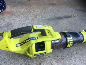 Ryobi 40 V rechargeable blower for Sale in Artesia, CA