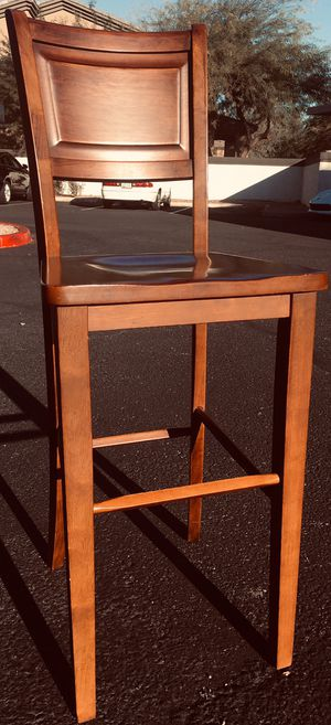 Bar stools Elegant, top quality, solid exotic wood for Sale in Sun Lakes, AZ
