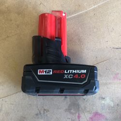 Milwaukee XC 4.0 M12 Battery for Sale in Meridian,  ID