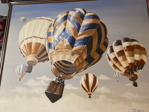BIG Air balloon art painting for Sale in Antioch, CA