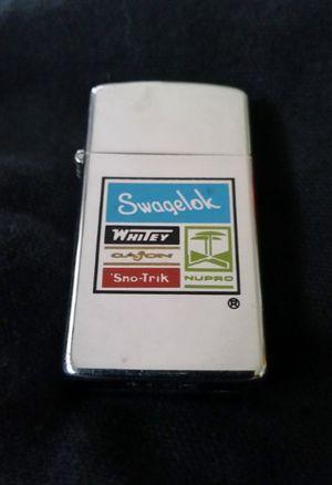 Swagelok Whitey NuPro Cajon Sno-Trik Zippo Slim Lighter- 1974 for Sale in Katy, TX