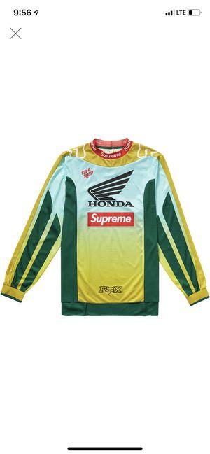 Supreme Honda Moto Jersey Size Small for Sale in Acworth, GA