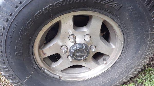 "Nissan Mazda Toyota X4 15"" Rims 6 Lug"