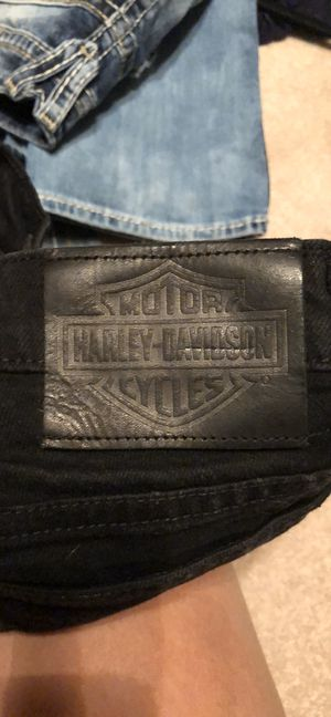 Ladies Harley Davidson Jeans Size 6 for Sale in Terre Haute, IN