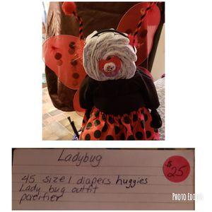 Diaper cake ladybug for Sale in Frostproof, FL