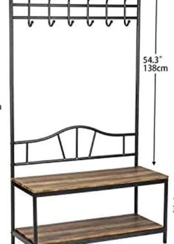 Coat rack and shoes organizer for Sale in Clifton,  NJ