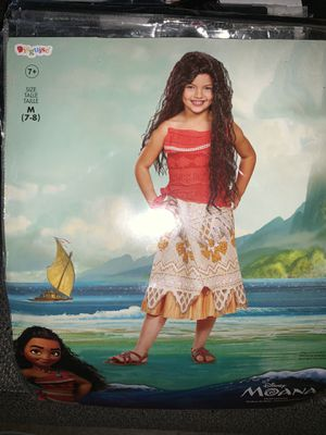 Moana costume. Kids Size Medium. for Sale in Los Angeles, CA