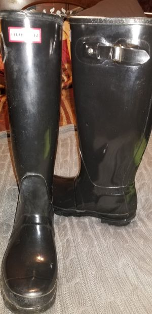 Hunter W23616 original gloss boots for Sale in Lodi, CA